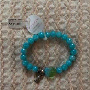 Jewelry - 🍁 3 / $20 Turquoise Beaded Bracelet